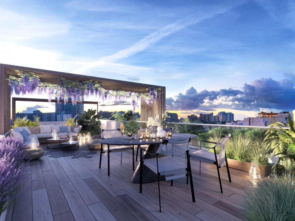 Ten30 South Beach Rooftop Terrace