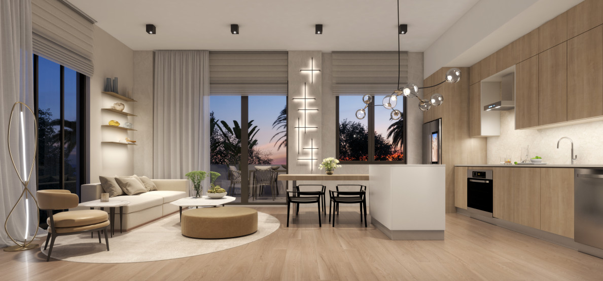 Ten30 South Beach Living Room Picture